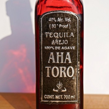Tequila - Aha Toro Anejo / 70cl / 40% Tequila Anejo 66,00CHF