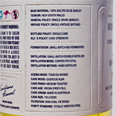 Gin - NB Gin Navy Strength / 70cl / 57% Gin 54,00CHF